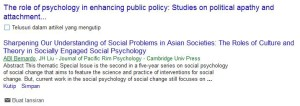 The Role of Psychology in Enhancing Public Policy